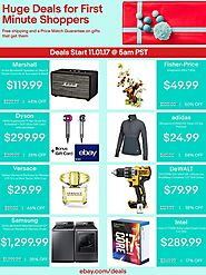 eBay 2017 Black Friday Ad