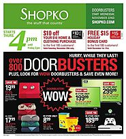 Shopko 2017 Black Friday Ad