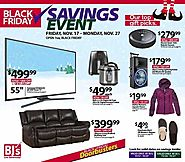 BJ's Wholesale Club 2017 Black Friday Ad