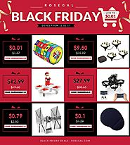 Rosegal 2017 Black Friday Ad