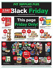 Pet Supplies Plus 2017 Black Friday Ad
