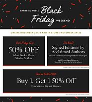 Barnes and Noble 2017 Black Friday Ad