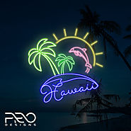 Neon Logo Design, Custom Neon Logo Design - ProDesigns