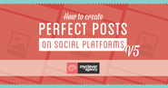 Create Perfect Posts on Social Media - mycleveragency