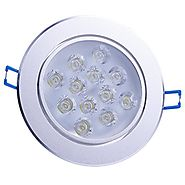 LEMONBEST Super Bright Cool White 121W LEDs Ceiling Light Spotlight Recessed Downlighting Decoration