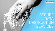 Nation Wide Product Destruction – Secure Data Destruction Services throughout the USA to Prevent Breach of Confidenti...
