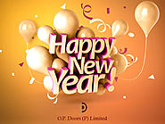 Happy New Year From O.P Doors - Modular Kitchen Manufacturers