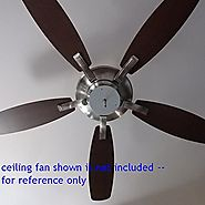 "6"" Diameter EXTREMELY BRIGHT COOL WHITE (6000K) LED Panel for Ceiling Fan Light -- 3300Lumens 17Watts 120Vac -- NON-D..."