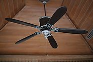 Ceiling Fans with LED Light and Remote Control
