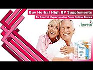 Buy Herbal High BP Supplements To Control Hypertension From Online Stores