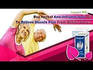 Buy Herbal Anti-Inflammatory Oil To Relieve Muscle Pain From Online Stores