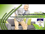 Buy Herbal Remedies For Piles To Cure Bleeding Hemorrhoids From Online Stores