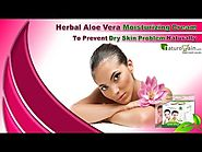 Herbal Aloe Vera Moisturizing Cream To Prevent Dry Skin Problem Naturally