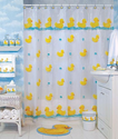 Super Cute Rubber Ducky Shower Curtains