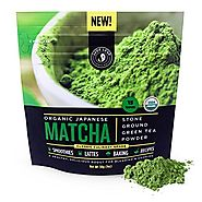 Jade Leaf Matcha Green Tea Powder - USDA Organic, Authentic Japanese Origin - Classic Culinary Grade (Smoothies, Latt...