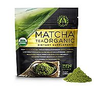 Organic Matcha Green Tea Powder, Japanese Premium Culinary Grade, Unsweetened & Sugar Free - USDA & Vegan Certified -...