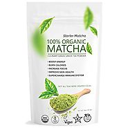 Starter Matcha (16oz) - USDA Organic, Kosher & Non-GMO Certified, Vegan and Gluten-Free. Pure Matcha Green Tea Powder...