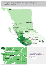 Aboriginal Supported Child Development Programs in British Columbia