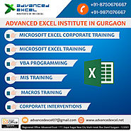 Excel Training in Gurgaon - Advanced Excel Training in Gurgaon