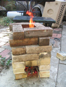 Homemade rocket stove videos and information