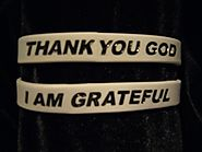 Create Personalized Rubber Bracelet To Celebrate Thanksgiving Day