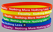 Custom Rubber Bracelets- Stand Up For Human Right Today | Make Your Wristbands