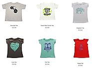 Find popular trends in kid's t-shirts