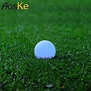 AosKe Pool Floating Lights LED Balls Light Garden Deco Balls Light, Party, Pool, Patio, Waterproof Color Changing Bal...