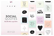 Social Quotes Bundle