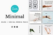 CANVA Minimal Social Media Pack