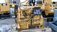 ITEM# E4319 - CATERPILLAR C18 600HP, 2100RPM INDUSTRIAL DIESEL ENGINE (2 AVAILABLE)