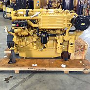 CATERPILLAR C18 DIESEL 450HP 1800RPM MARINE PROPULSION ENGINE (SEVERAL AVAILABLE)
