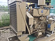 CATERPILLAR G3412 SI - 175 KW NATURAL GAS GENERATOR