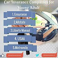 Car Insurance Companies for Young Adults | Auto Insurance Invest
