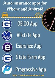 Best Car Insurance Apps for iPhone and Android | Auto Insurance Invest