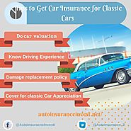 Vital tips to get Classic Car Insurance | Auto Insurance Invest