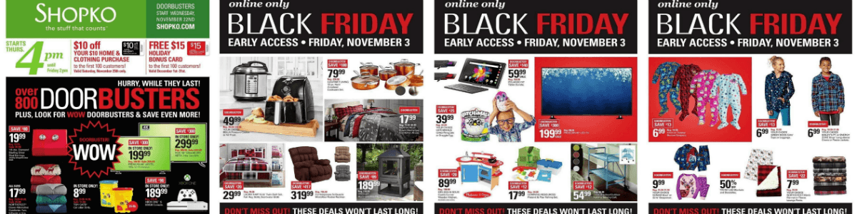 Headline for Shopko Black Friday Deals 2017