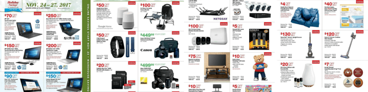 Headline for Costco Black Friday Deals 2017