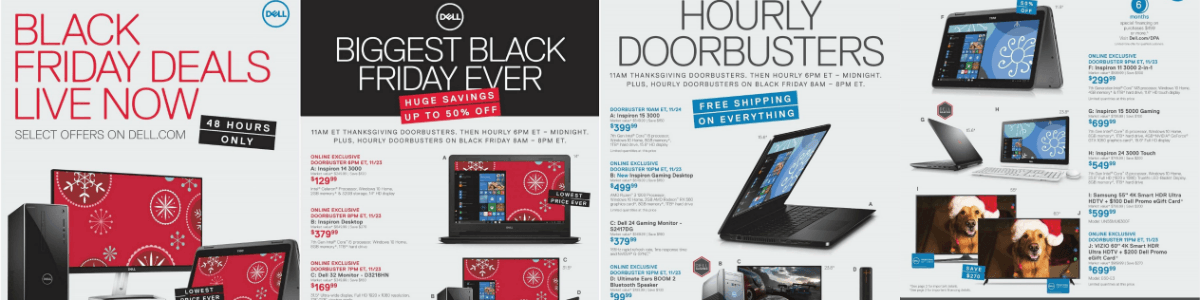 Headline for Dell Black Friday Deals 2017