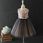 Party Dress With A Perfect Footwear - Baby Couture India