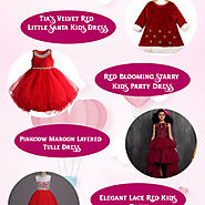 Valentine Dresses For Little Girl | BabyCouture India