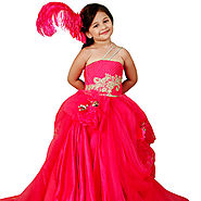Never Ending Fashion - Vintage Gown - Baby Couture India