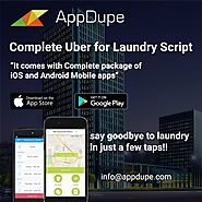 Wash your competition away with our Uber for Laundry