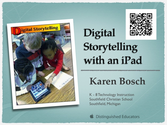 Digital Storytelling with an iPad