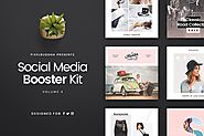 Social Media Booster Kit 4 by pixelbuddha_graphic on Envato Elements