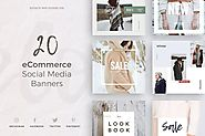 eCommerce Social Media Kit by annabalashova on Envato Elements