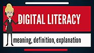 What is DIGITAL LITERACY? What does DIGITAL LITERACY mean? DIGITAL LITERACY meaning & explanation