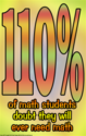 (d36) Poster #327- Funny Middle and High School Math Poster to Motivate Students