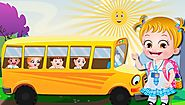 Wheels On The Bus Nursery Rhyme Song with Lyrics and Video