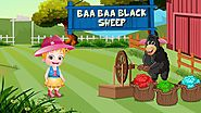 Baa Baa Black Sheep Nursery Rhymes Online with lyrics and Video